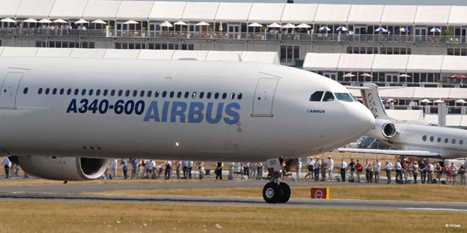 aluguer airbus privado  a340