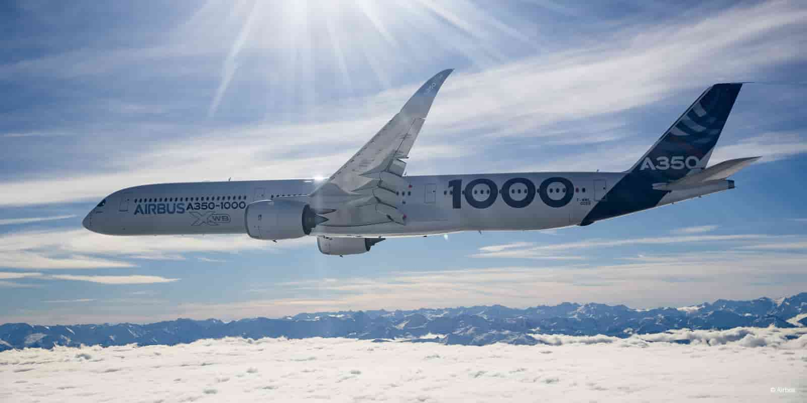 private plane rental boeing a350