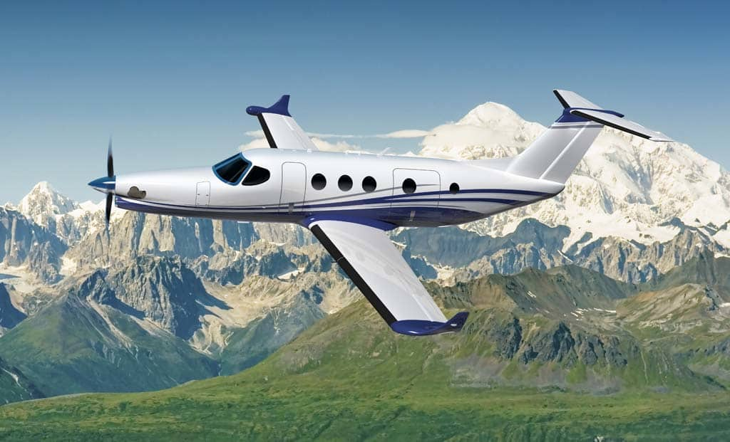 Cessna presents its new single-engine: Denali