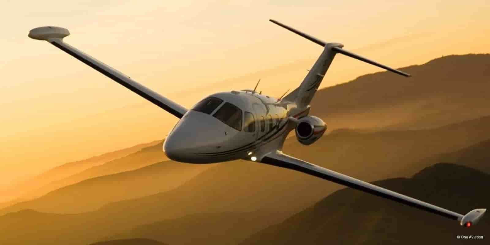 private jet eclipse 500 rental
