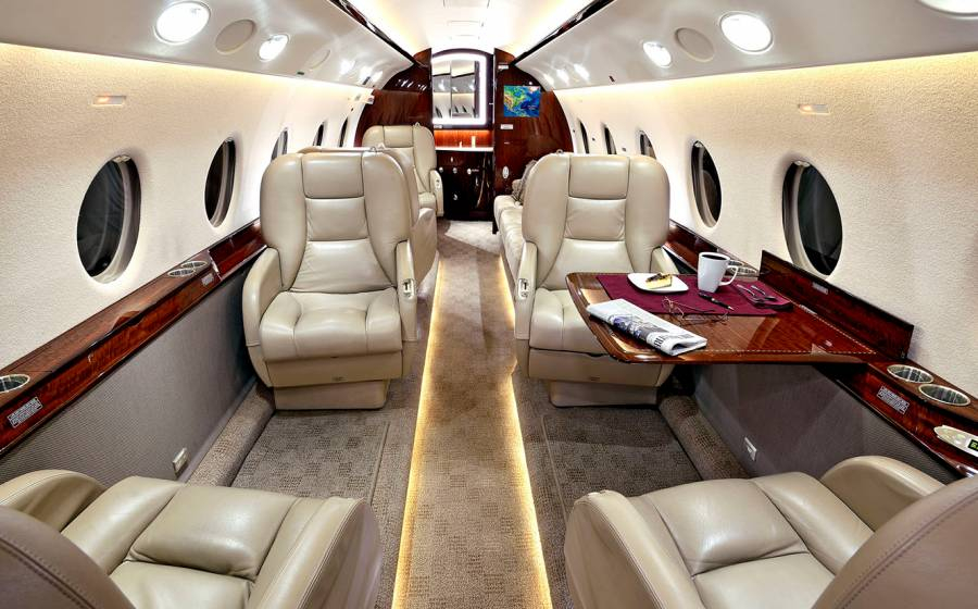 private jet g200 spain